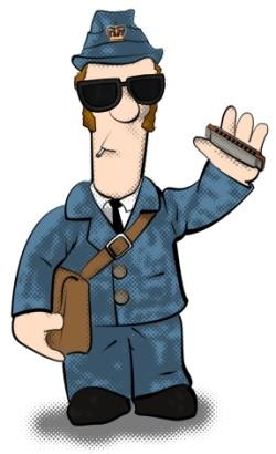 Otis the Postman