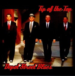 Tip Of The Top, Depot Street Blues (l to r : Aki, Frank, Jonny, Carlos)