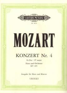 Mozart Horn Concerto No.4