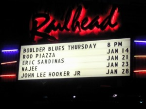 Blues at the Railhead