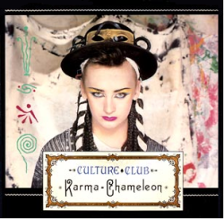 Karma Chameleon single cover