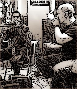 Aki Kumar and mystery guest
