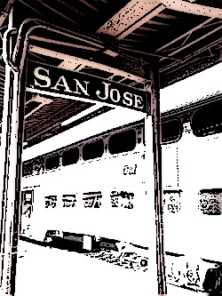 San Jose Caltrain Station