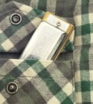 Harmonica in Flannel Shirt Pocket