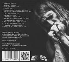 Raw Blues back cover