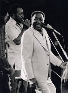 James Cotton and Muddy Waters