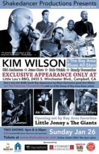 Kim Wilson Jam