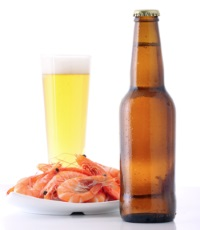 Shrimps and Beer