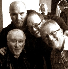 WW, JJ, Dennis and Mickey sepia