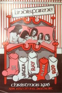 Lindisfarne 1976 Poster ii