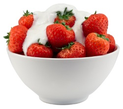 Strawberrieds and Cream i
